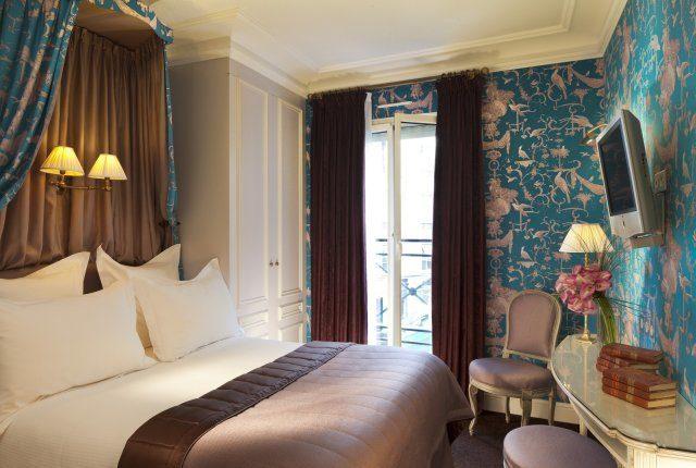 Paris Hotel Room Hotel de Buci
