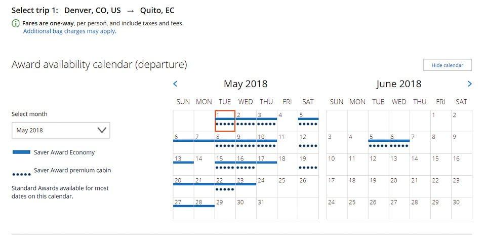 Flights to Ecuador