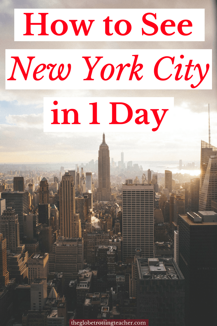 How to See New York City in 1 Day with New York Tour1