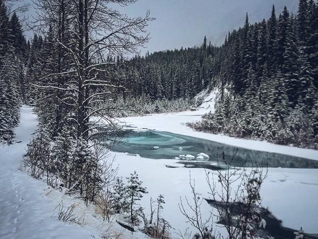 Banff National Park Spray River