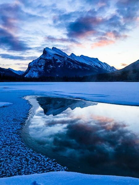 Banff National Park Sunrise