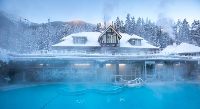 Banff National Park Hot Springs