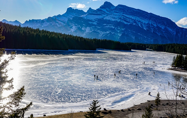 Banff National Park Two Jack Lake