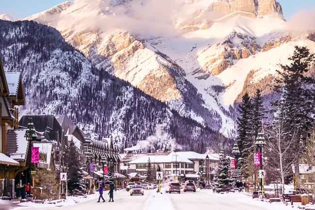 Banff National Park Town