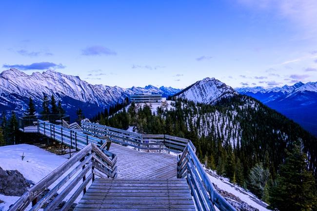 Banff Winter - Banff Gondola