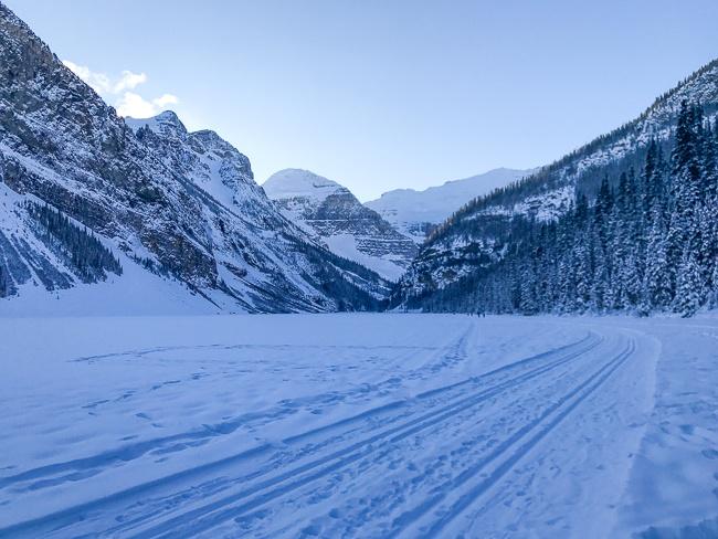 Banff Winter- Snowshoeing at Lake Louise