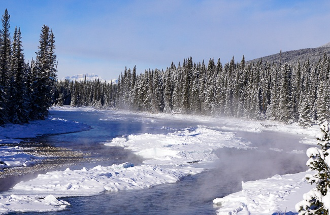 Banff Winter- Bow Valley Parkway