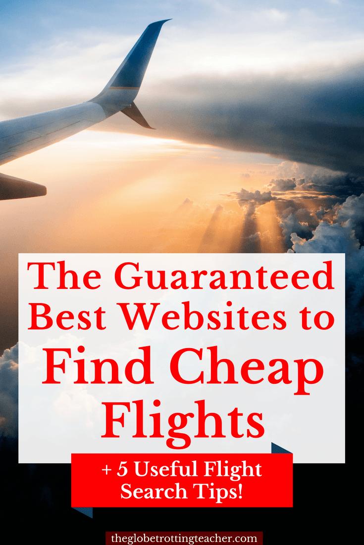 The Best Websites to Find Cheap Flights