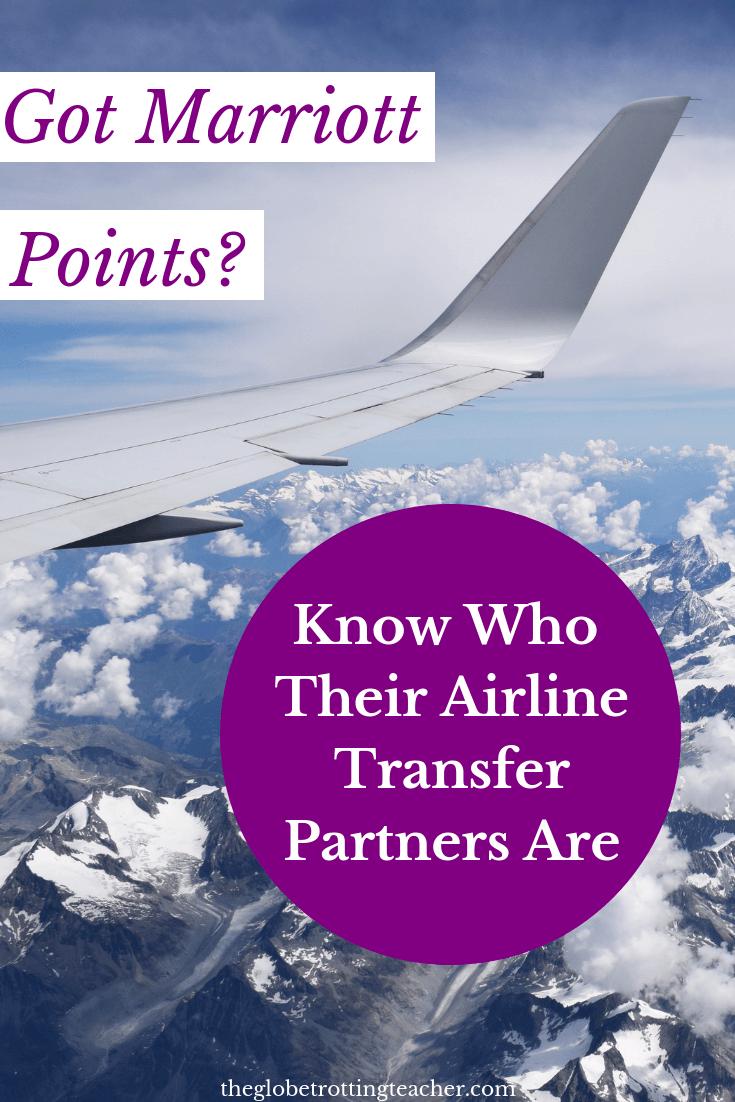 Marriott Transfer Partners
