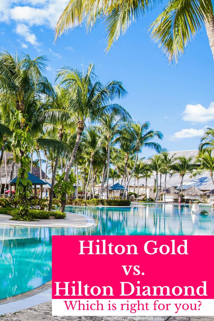 Hilton Honors Gold vs. Hilton Diamond Status