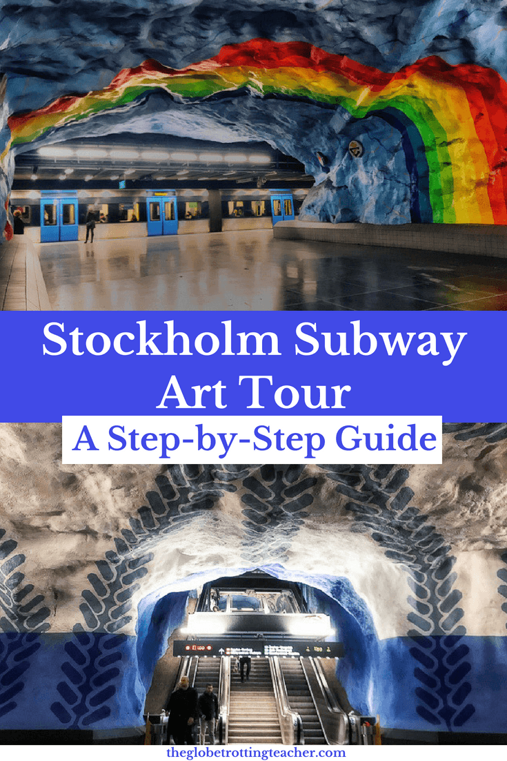 Stockholm Subway Art Tour - A Step-by-Step Guide