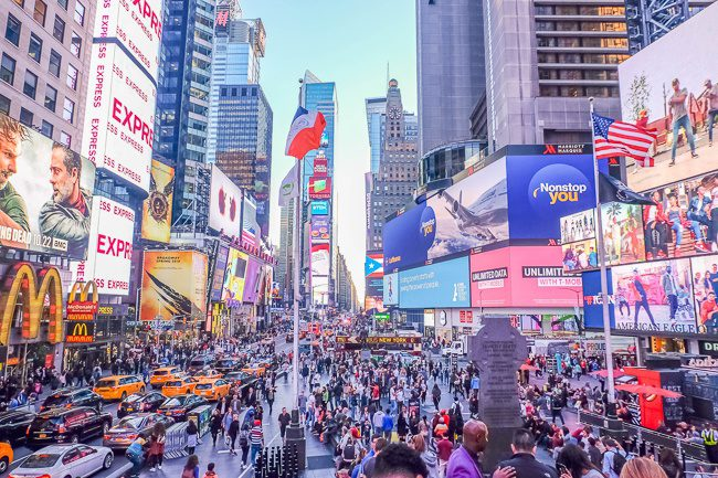 Times Square Where to Stay in New York City