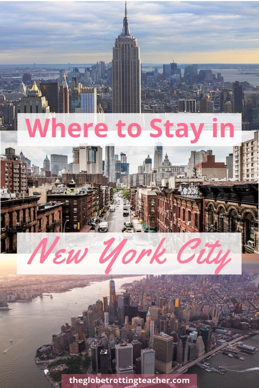 Where to Stay in New York City Pin