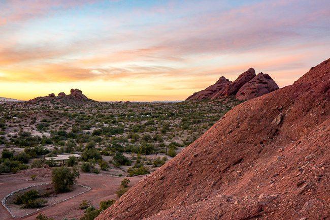 Tempe Arizona hiking