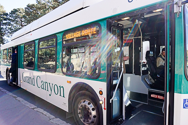 Grand Canyon Shuttle Buses