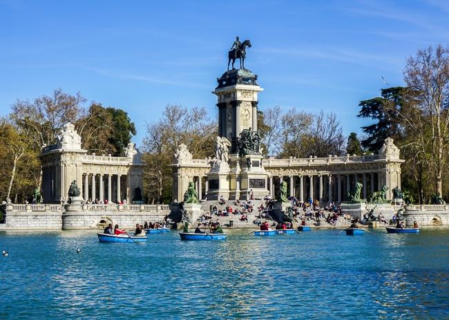 Madrid itinerary Retiro Park