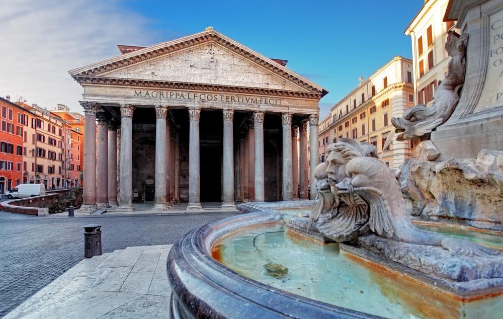 3 day trip to Rome Parthenon