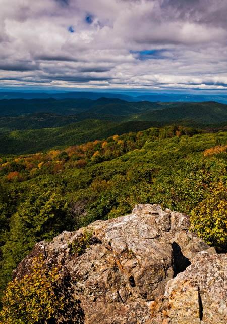 Shenandoah national park trails