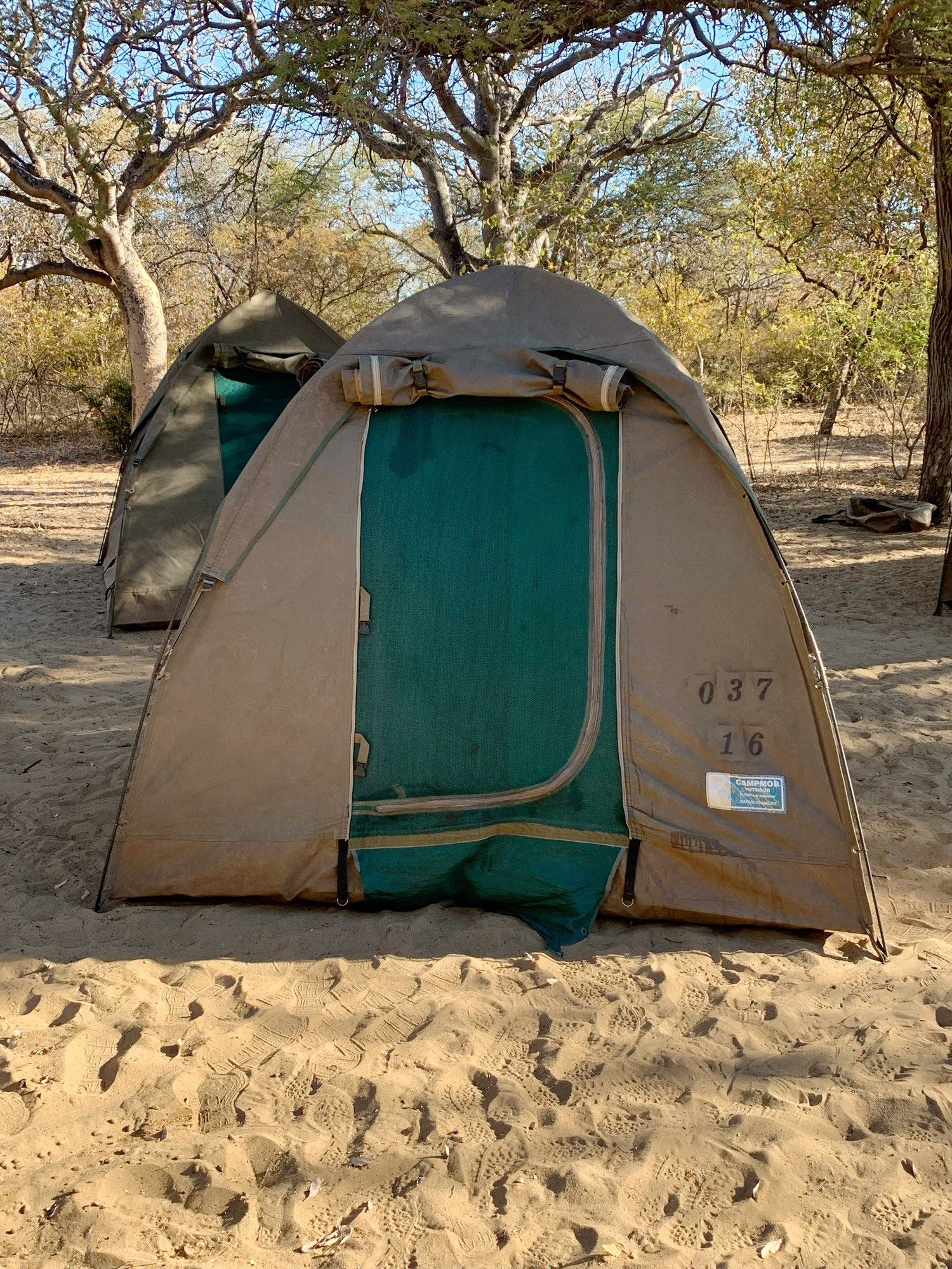 Intrepid Tent Botswana