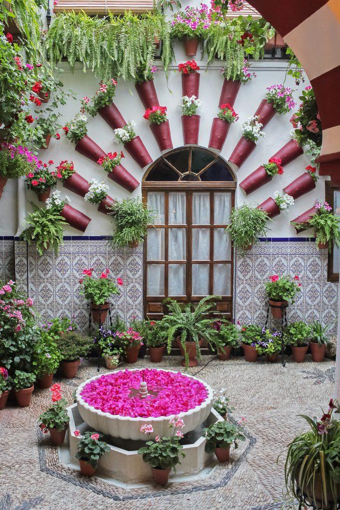 Cordoba Spain Patio