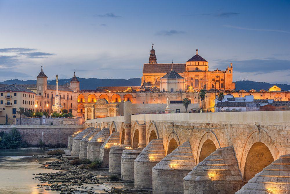 Roman Bridge in Cordoba Spain