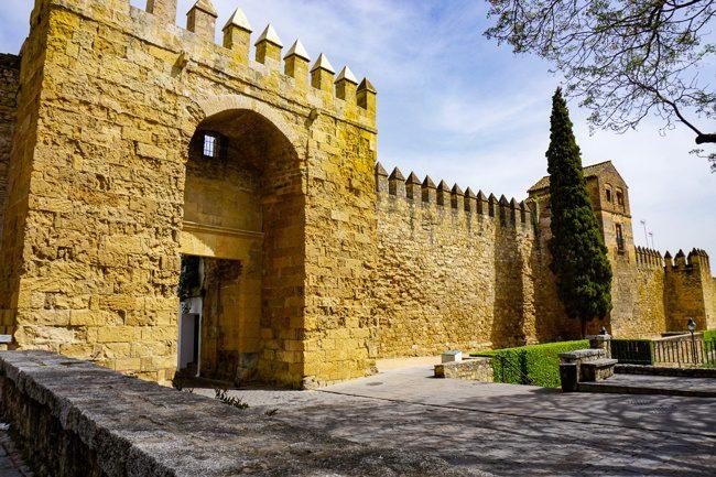 Almodovar Gate - Cordoba Spain