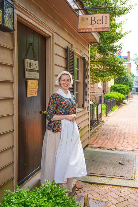 Kent County Delaware First Heritage State Park Walking Tours