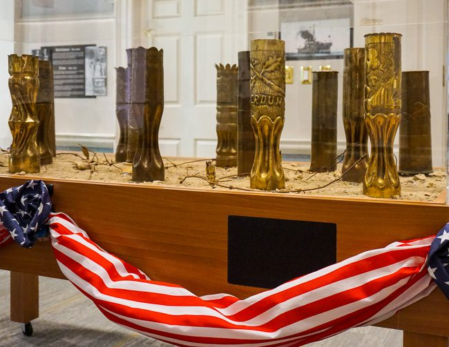 Things to do in Dover Delaware Public Archives Trench Art