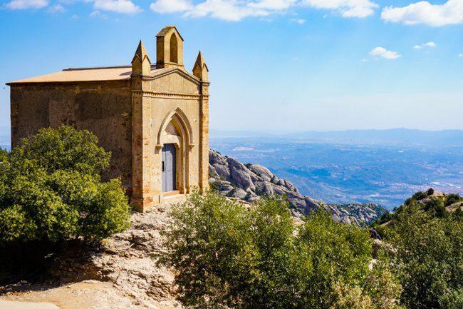 Day trip to Montserrat hiking to Saint Joan Chapel