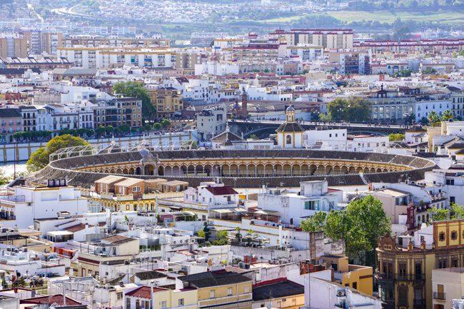 Seville Spain Bull Ring