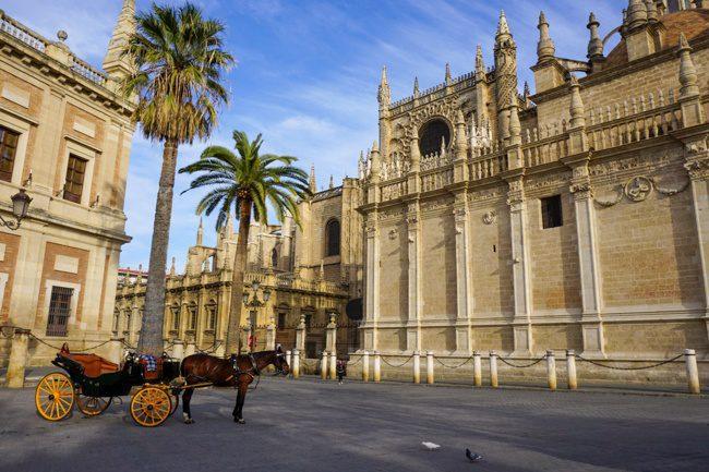 Seville Spain Historic Center