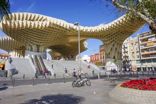 Seville Spain Parasol