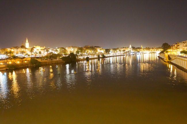 Seville Spain Gudalquivir River
