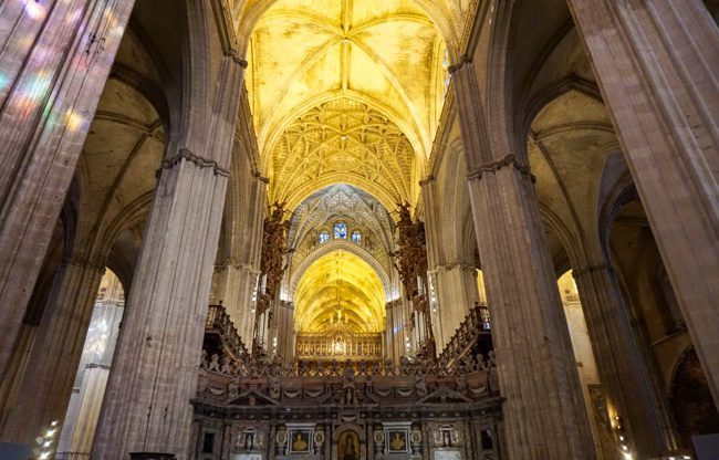Seville Spain Gothic Cathedral