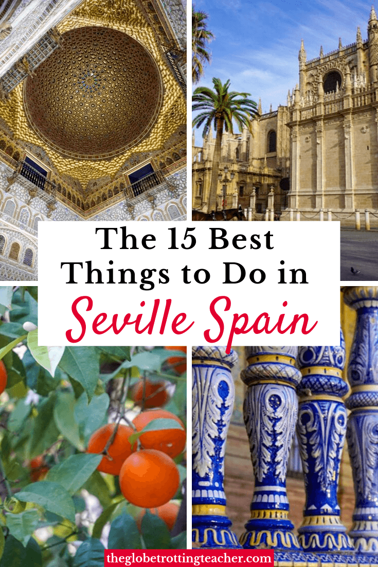 Planning which things to do in Seville Spain should be on your itinerary? Use this guide to plan what to do in Seville whether you stay for 1, 2, or 3 days!