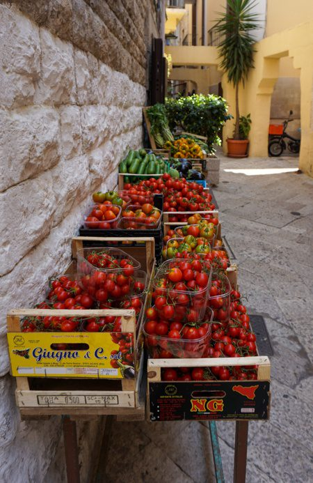 Bari Italy Fruits and Vegetables