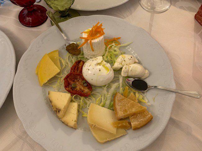Bari Restaurants - Cheese Plate