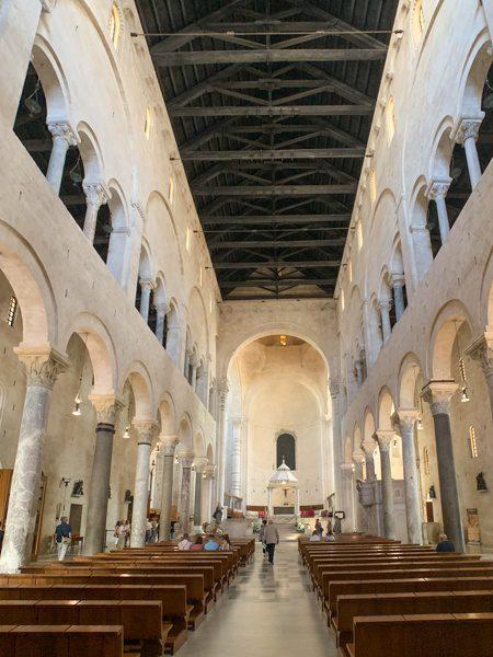 Bari Cathedral Inside