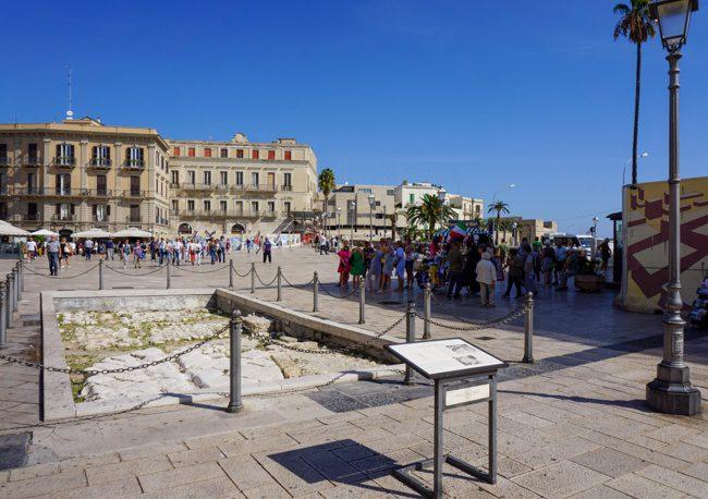 Bari Italy Piazza del Ferrarese