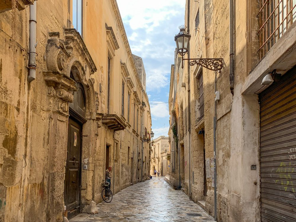 Lecce Italy Old Town