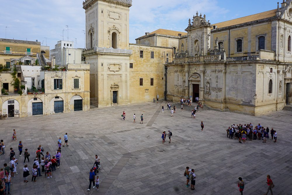 Lecce Italy Piazza del duomo