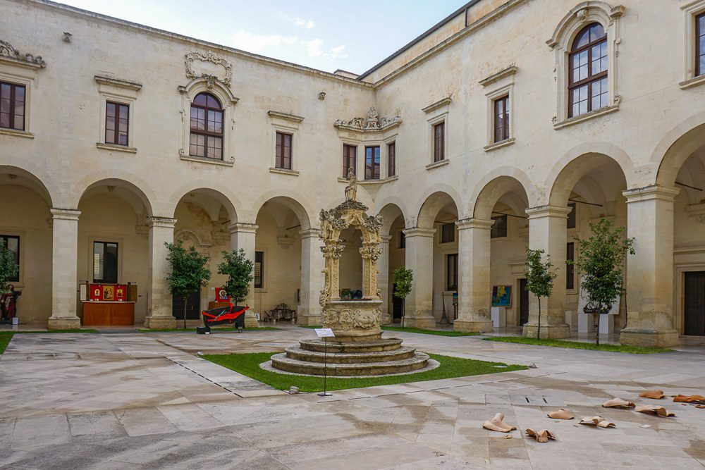 Lecce Italy Cloister
