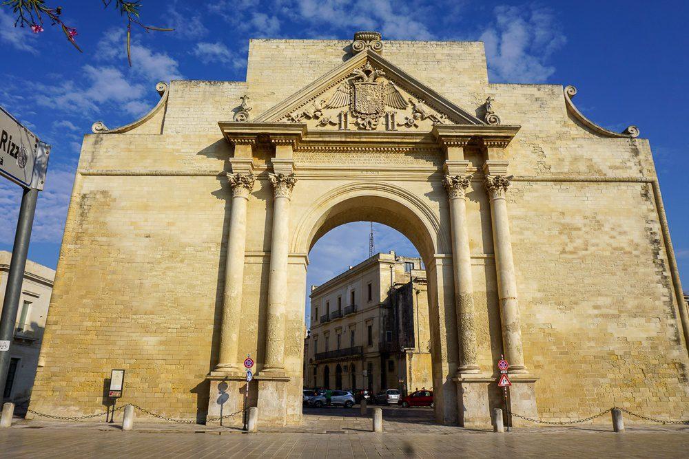 Lecce Italy Gates