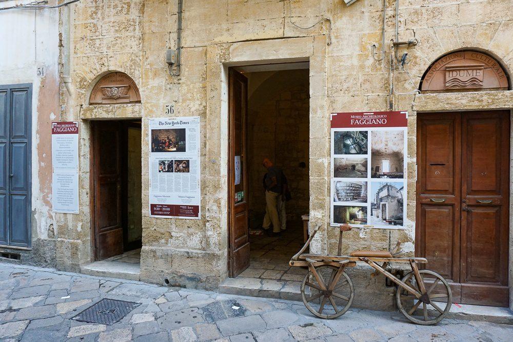 Lecce Italy Museo Faggiano