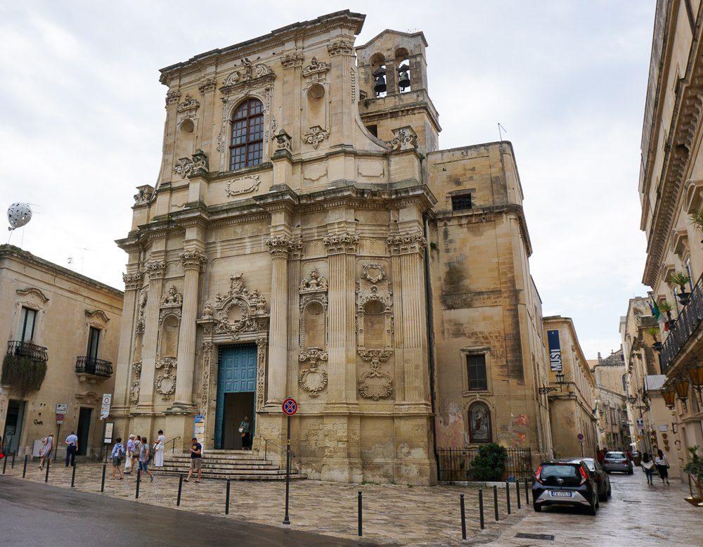 Lecce Italy Church Trail