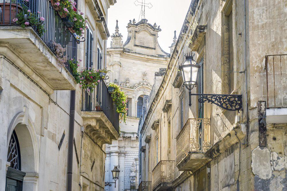 Lecce, Puglia, Italy Centro Storico