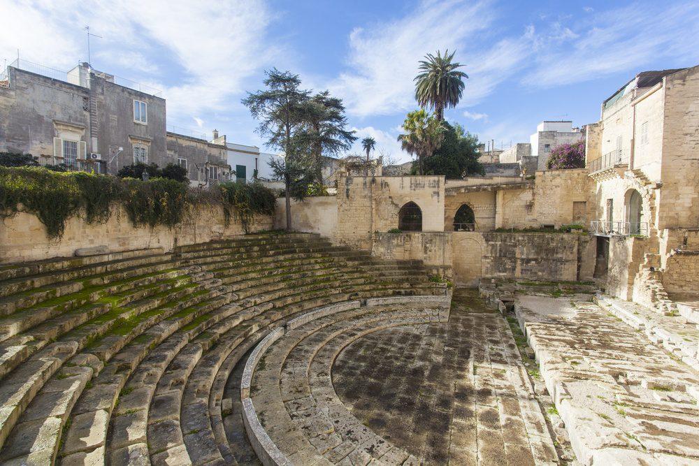 Lecce Italy Roman Theatre