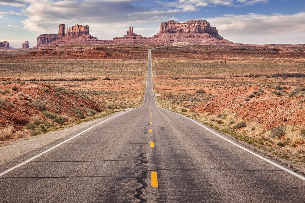 Road Trip Gifts - Road to Monument Valley