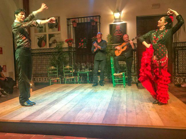 Seville Spain Flamenco Show