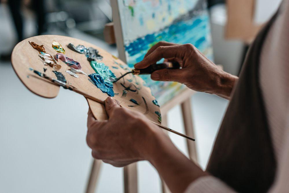 Artist Painting Freelance Business